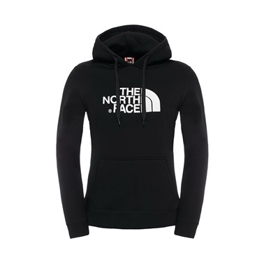 The North Face - W Drew Peak Pullover Hoodie Bayan Sweat Shirt (Fw17) Zebra